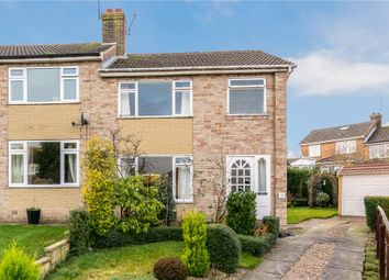 Thumbnail 3 bed semi-detached house for sale in Bachelor Way, Harrogate, North Yorkshire