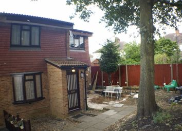 Thumbnail 1 bed terraced house to rent in Conifer Gardens, Sutton, Sutton