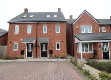 Thumbnail 3 bed semi-detached house for sale in Bamburgh Drive, Buckshaw Village, Chorley