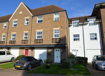 Thumbnail 4 bed terraced house for sale in Medway Court, Aylesford