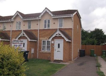 Thumbnail 2 bedroom end terrace house to rent in Alder Drive, Huntingdon