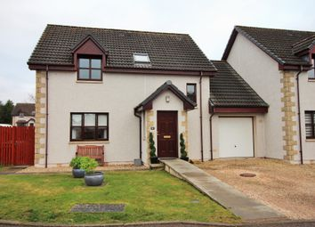 Thumbnail 4 bed link-detached house for sale in Knockomie Gardens, Forres