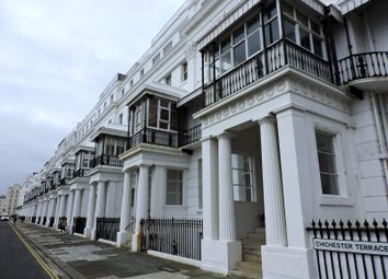 Thumbnail 2 bedroom flat to rent in Chichester Terrace, Brighton