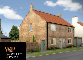 Thumbnail 3 bedroom semi-detached house to rent in Rosemary Cottage, Main Street, Cranswick, Driffield