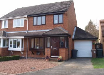 Thumbnail 2 bedroom semi-detached house to rent in Woodcroft Close, Annitsford, Cramlington