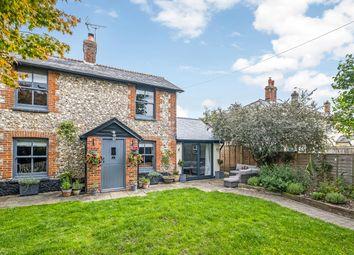 Dixons Lane, Broughton, Stockbridge, Hampshire SO20. 3 bed semi-detached house for sale