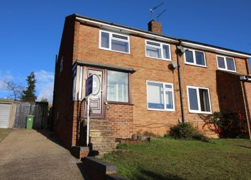 Thumbnail 3 bed semi-detached house for sale in Hillshaw Crescent, Strood
