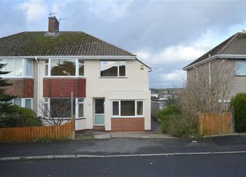 Thumbnail 3 bed semi-detached house for sale in Clyne Cresent, Mayals, Swansea