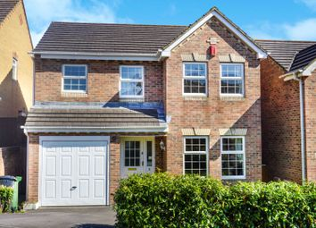 Thumbnail 4 bed detached house for sale in Teasel Mead, Bradley Stoke