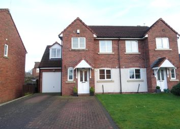 Thumbnail 4 bed semi-detached house for sale in Helvellyn Rise, Carlisle