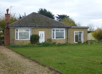 Thumbnail 4 bedroom detached bungalow for sale in Elton Road, Stibbington, Peterborough