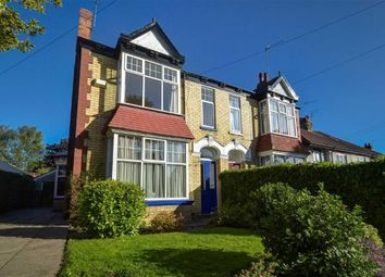 Thumbnail 4 bedroom semi-detached house to rent in Marlborough Avenue, Hessle
