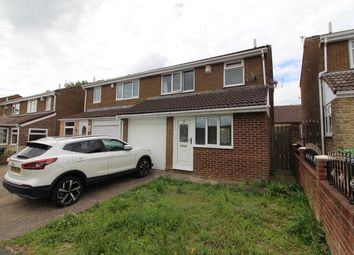 Thumbnail 3 bed semi-detached house for sale in Hargill Drive, Rickleton, Washington, Tyne And Wear