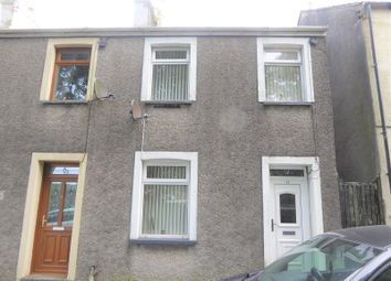 Thumbnail 2 bedroom end terrace house for sale in Oddfellows Street, Bridgend, Bridgend.