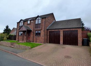 Thumbnail 4 bed detached house for sale in Ash Lea, Brampton, Cumbria