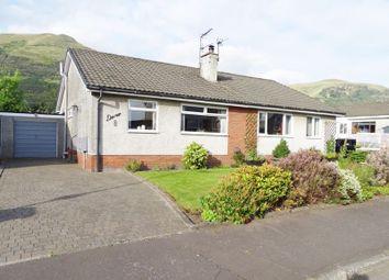 Thumbnail Semi-detached bungalow for sale in Craigton Crescent, Alva