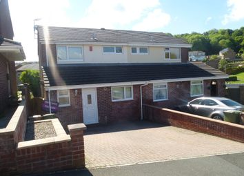 Thumbnail 3 bed semi-detached house for sale in Robyns Close, Plympton, Plymouth