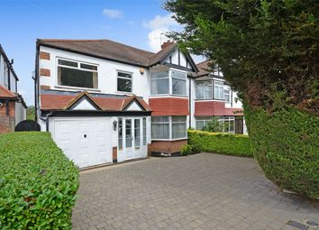 Thumbnail 5 bed semi-detached house for sale in Blockley Road, North Wembley, Middlesex