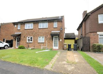 Thumbnail 3 bed semi-detached house to rent in Enderby Road, Luton