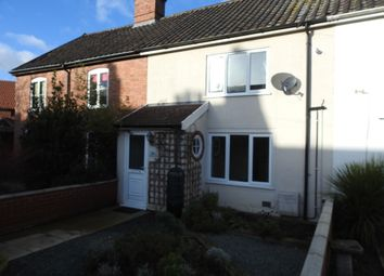 Thumbnail 3 bed terraced house to rent in Central Road, Leiston