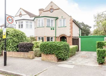 Thumbnail 3 bed semi-detached house for sale in Eversley Crescent, Isleworth