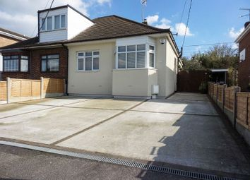 Thumbnail 2 bed semi-detached bungalow for sale in Hambro Avenue, Rayleigh