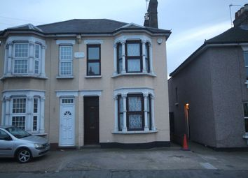 Thumbnail 3 bed semi-detached house to rent in Brentwood Road, Gidea Park, Romford