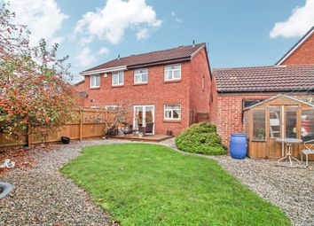 Thumbnail 3 bed semi-detached house for sale in Lapwing Close, South Beach Estate, Blyth