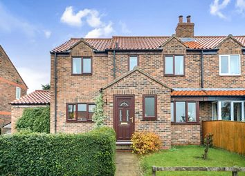 Thumbnail 4 bed semi-detached house for sale in Bell Lane, Huby, York