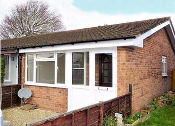 Thumbnail 1 bedroom semi-detached bungalow to rent in Brighton Grove, Bobblestock, Hereford