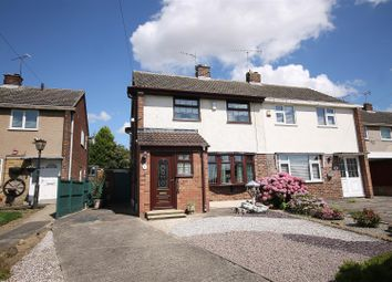 Thumbnail 2 bed semi-detached house for sale in Bainbridge Road, Bolsover, Chesterfield