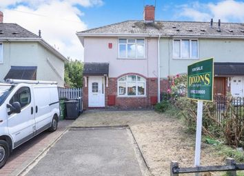 Thumbnail 2 bed semi-detached house for sale in Eastfield Grove, Eastfield, Wolverhampton, West Midlands