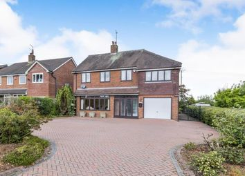 Thumbnail 4 bed detached house for sale in Bar Hill, Madeley, Crewe, Cheshire