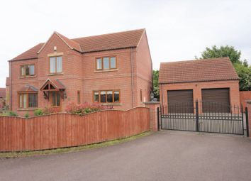 Thumbnail 4 bed detached house for sale in Thorlby Drive, Worksop