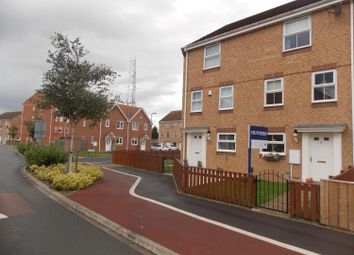 Thumbnail 4 bed town house for sale in Fullerton Way, Thornaby, Stockton-On-Tees