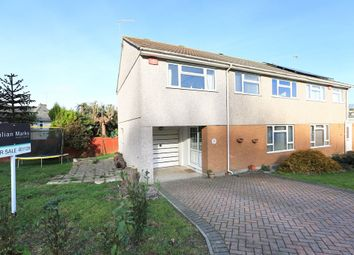 Thumbnail 4 bed semi-detached house for sale in Rosewood Close, Plymstock, Plymouth