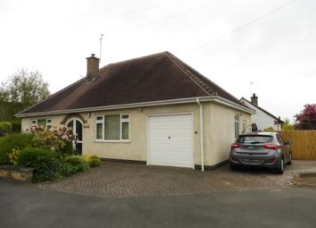 Thumbnail 2 bed detached bungalow for sale in Valjean Crescent, Kirby Muxloe, Leicester