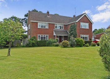 Thumbnail 4 bed detached house for sale in Fieldgate Close, Horsham, West Sussex