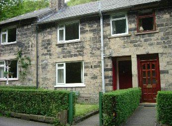 Thumbnail 2 bed terraced house to rent in Brookside, Hebden Bridge