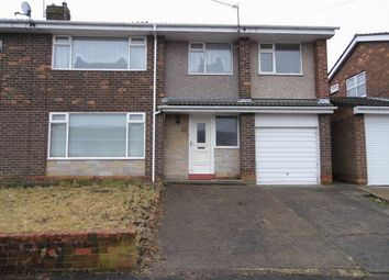Thumbnail 4 bed semi-detached house for sale in Coniston Avenue, West Auckland, Bishop Auckland