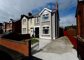 Thumbnail 3 bed semi-detached house for sale in Cicero Gardens, Castlereagh, Belfast