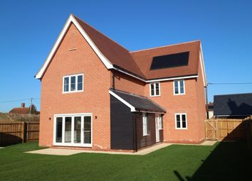 Thumbnail 4 bed detached house to rent in Red House Close, Newton, Sudbury