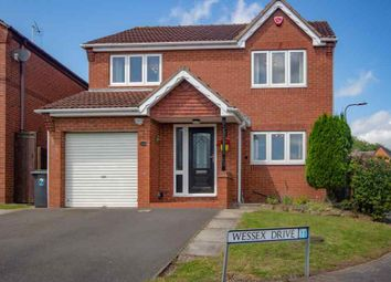 Thumbnail 4 bed detached house for sale in Wessex Drive, Eastwood, Nottingham