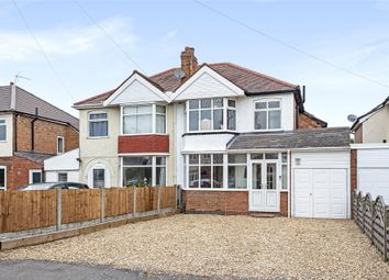 Thumbnail 3 bed semi-detached house for sale in Colebrook Road, Shirley, Solihull, West Midlands