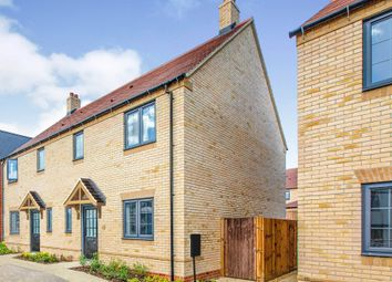 Thumbnail 3 bed semi-detached house for sale in Sand Road, Great Gransden, Sandy