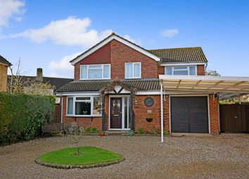 Thumbnail 4 bed detached house for sale in Bourne Road, Thatcham