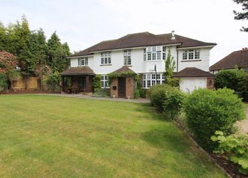 Thumbnail 5 bed detached house for sale in Pine Walk, Carshalton
