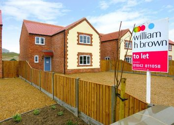 Thumbnail 4 bed detached house to rent in Whiteplot Road, Methwold Hythe, Thetford