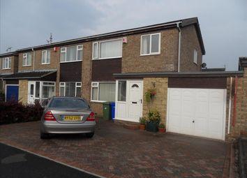 Thumbnail 3 bed semi-detached house to rent in Kirton Way, Cramlington