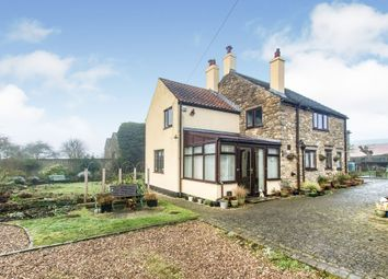Thumbnail 4 bed detached house for sale in Pilkington Farm House, Caenby Corner, Market Rasen